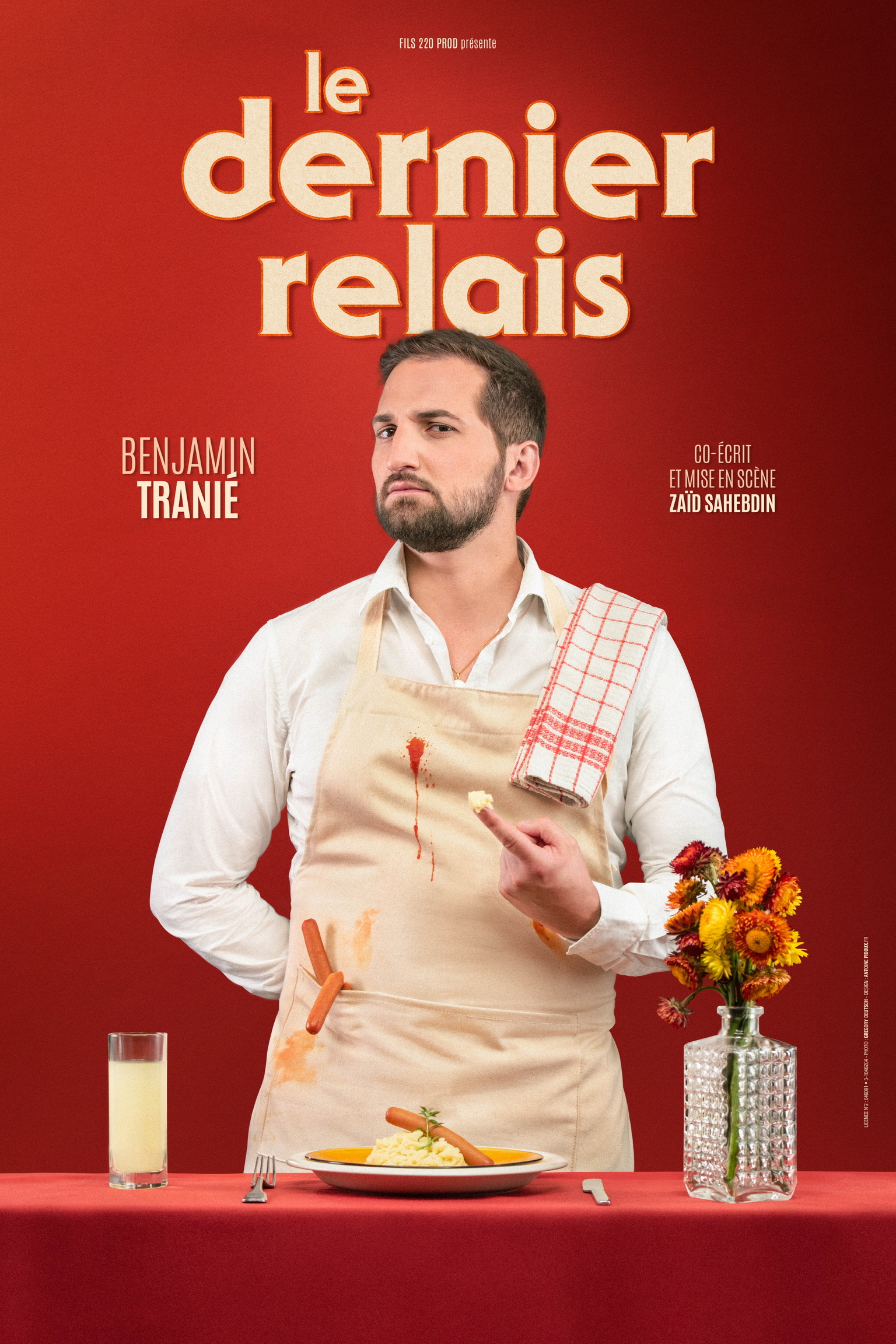 Benjamin Tranié montpellier comedie du rire