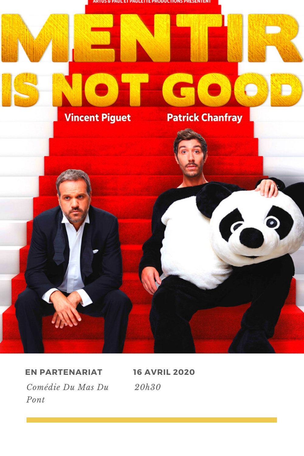 Mentir is not good comédie du mas comedie du rire