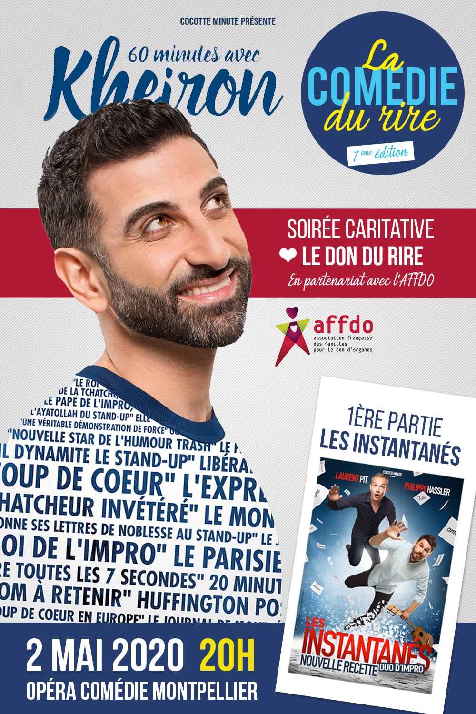 Gala Opéra Comédie montpellier comedie du rire
